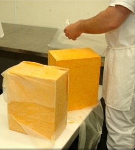 40lb Cheddar Blocks